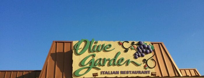 Olive Garden is one of My Places.
