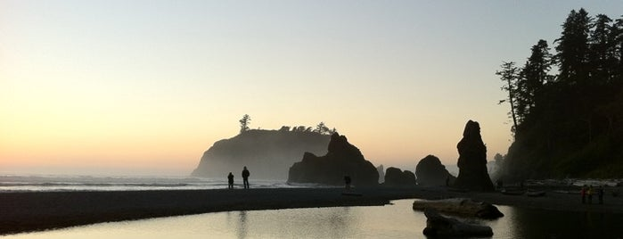 Ruby Beach is one of Olympic National Park 💚.