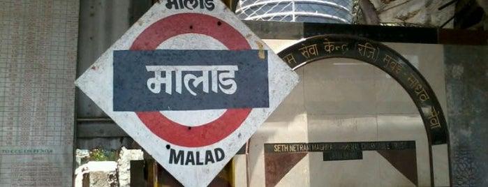 Malad Railway Station is one of Mumbai Suburban Western Railway.
