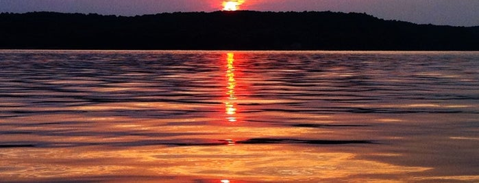 Monroe Lake is one of Indiana State Parks and Reservoirs.