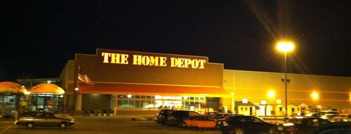 The Home Depot is one of My spots.