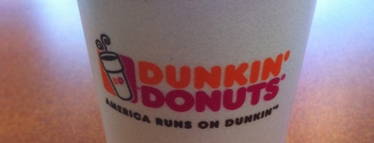 Dunkin' Donuts is one of My places.
