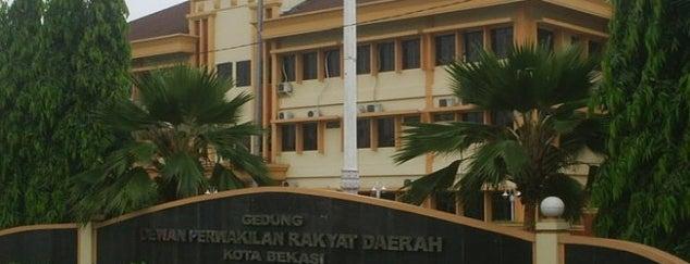 DPRD Kota Bekasi is one of Kantor Pusat Pemerintahan Kota Bekasi.