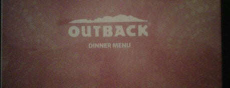 Outback Steakhouse is one of 20 favorite restaurants.
