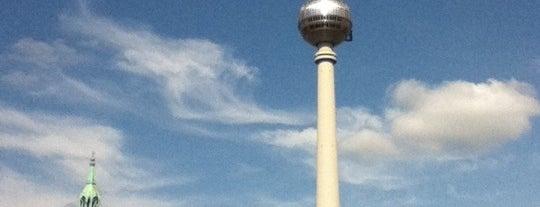 Berlin Televizyon Kulesi is one of Berlin / Germany.