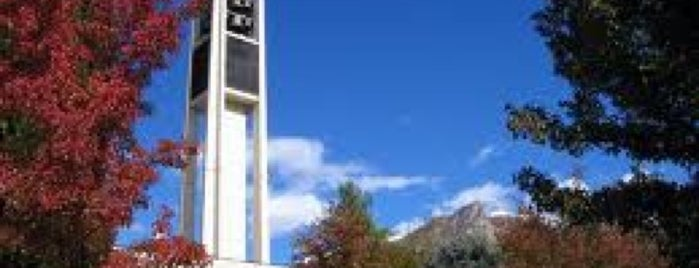 Brigham Young University is one of College Love - Which will we visit Fall 2012.
