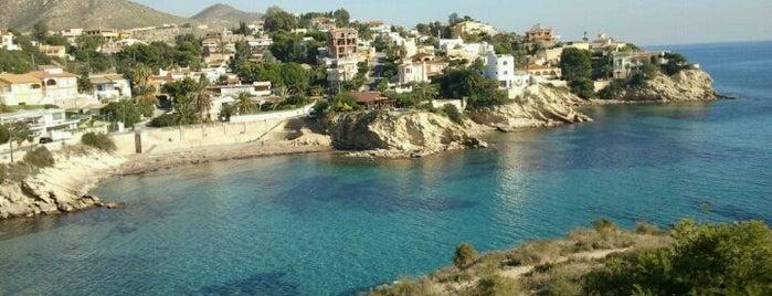 Cala Coveta Fumá / Morro Blanc del Puerto is one of Playas.