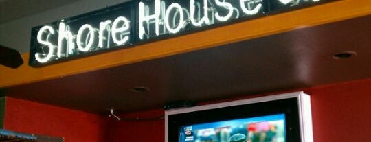 Shore House Cafe is one of Top 10 dinner spots in Long Beach, Ca.