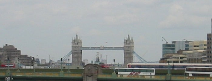 Tower Bridge is one of London as a local.