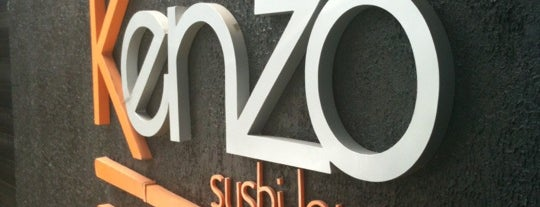 Kenzo Sushi Lounge is one of Santos Japonesa.