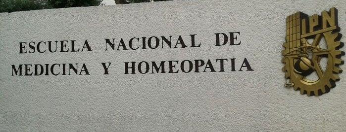 Escuela Nacional de Medicina y Homeopatía is one of DF Todas.