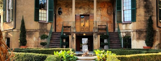 Telfair Museums' Owens-Thomas House is one of Travel Guide to Savannah.