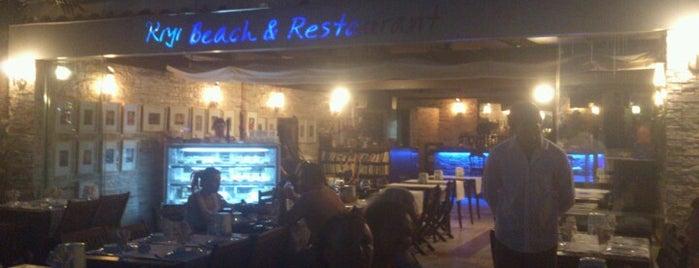 Kiyi Beach & restaurant is one of Restaurants.