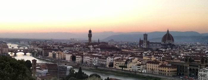 Piazzale Michelangelo is one of Go Ahead, Be A Tourist.