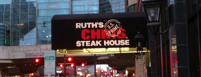 Ruth's Chris Steak House is one of The 15 Best Places for a Steak in Indianapolis.