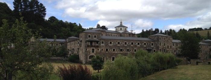 Monasterio de San Julián de Samos is one of Camino de Santiago.