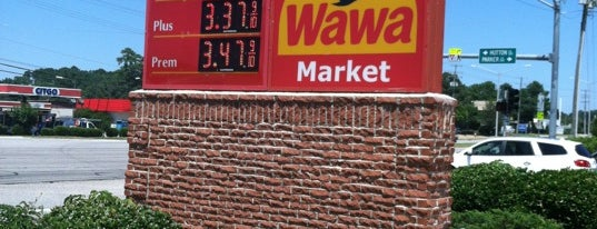 Wawa is one of Virginia/Washington D.C..