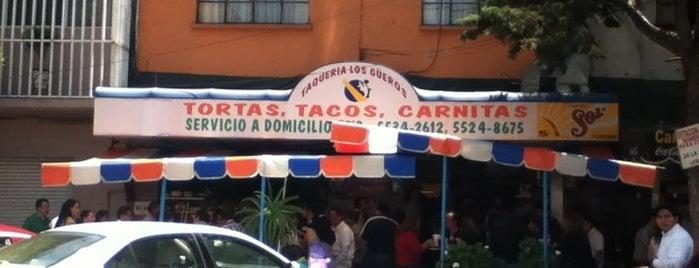 Taqueria Los Güeros is one of Crudeando D.F..