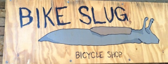 Bike Slug is one of Cole's Brooklyn Favorites.