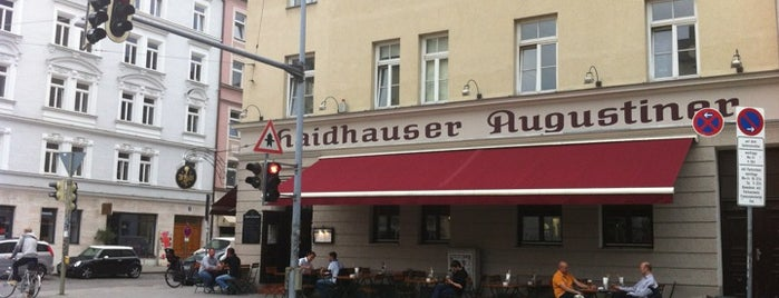 Haidhauser Augustiner is one of Munich - eat & drink.