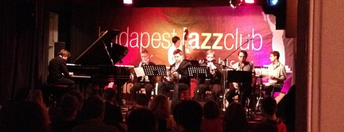 Budapest Jazz Club is one of I have been here.