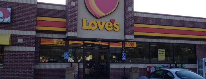 Love's Travel Stop is one of Georgia Bound.