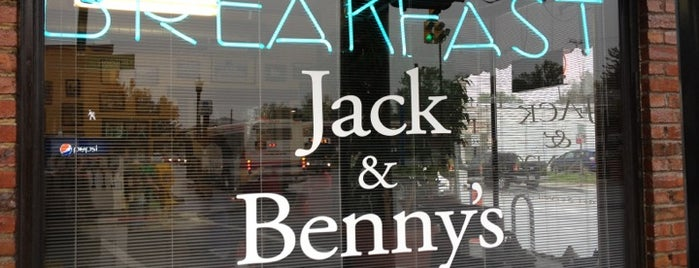 Jack & Benny's is one of Brunch.
