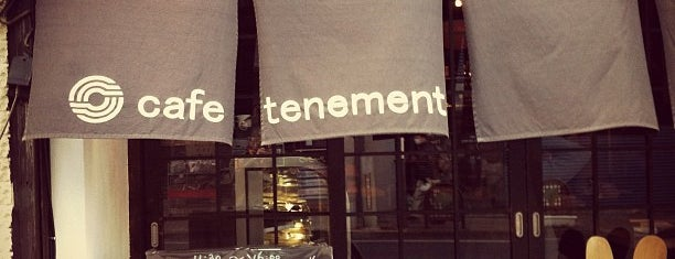 cafe tenement is one of 珈琲の名店12選+α(東京).