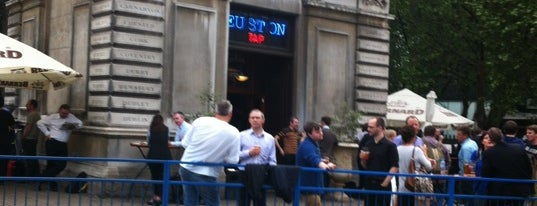 The Euston Tap is one of London Pint.