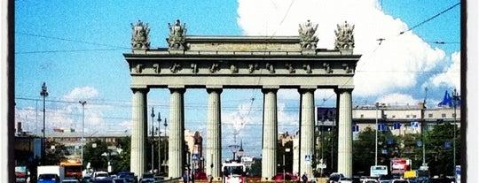 Московские ворота is one of Санкт-Петербург.