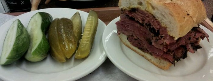 Katz's Delicatessen is one of Eating & Drinking in New York / Brooklyn.