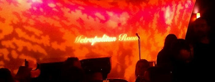 Metropolitan Room is one of Jazz Ain't Nuthin' But Soul.