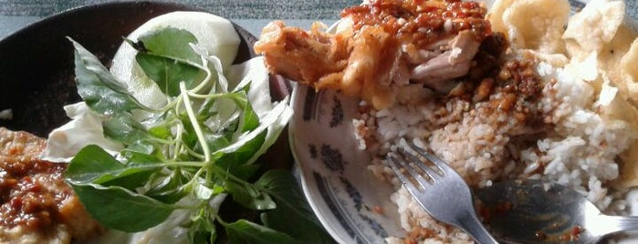 Ayam Penyet Bu Ribut is one of All-time favorites in Indonesia.