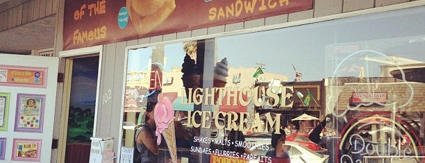 Lighthouse Ice Cream & Yogurt is one of The 15 Best Places for Waffles in San Diego.