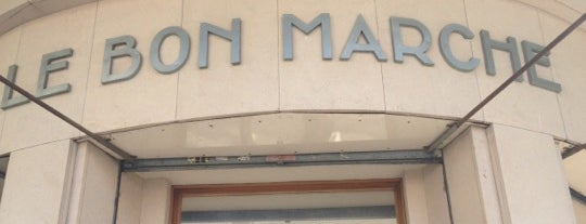 Le Bon Marché is one of Europe 2013.