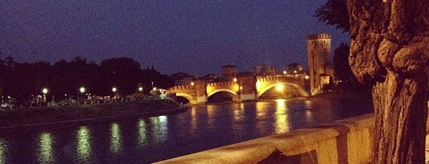 Ponte Scaligero is one of Veneto best places.
