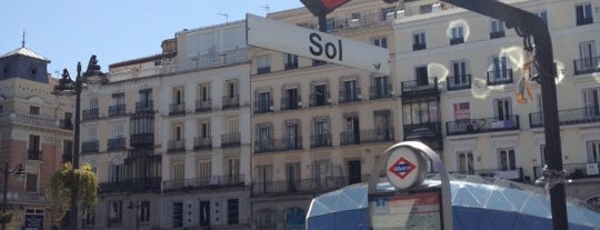 Puerta del Sol is one of Dieter's favourite spots in Madrid.