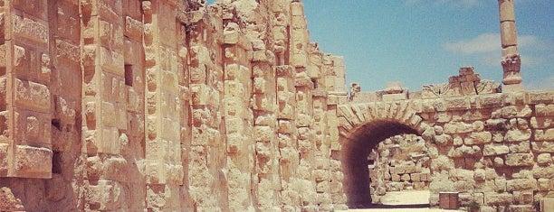 Jarash Archaeological Site is one of Jordan.