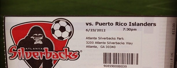 Atlanta Silverbacks Park is one of Places I Visit : Atlanta.