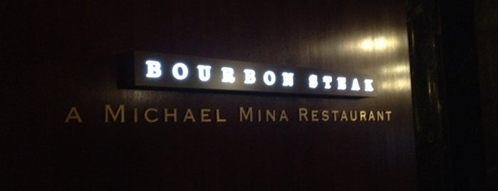 Bourbon Steak is one of Places to Eat in California.
