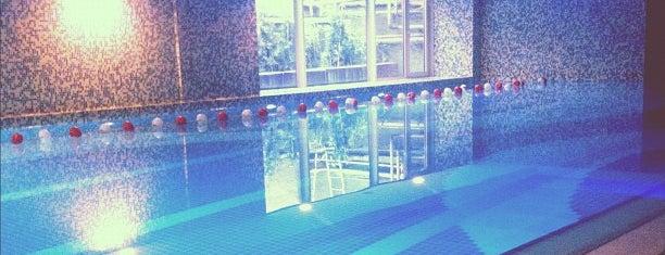 Titanic Fitness Spa Havuz is one of İstanbul Avrupa Yakası #4 🍁🍃.