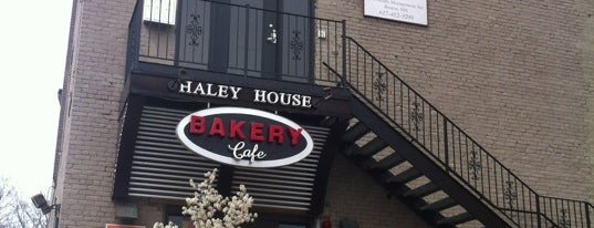 Haley House Bakery Cafe is one of Coffee shops to go to in Boston.