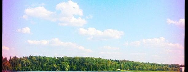 Истринское водохранилище is one of Resorts))).
