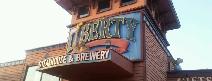 Liberty Brewery & Grill is one of The 15 Best Places for a Steak in Myrtle Beach.
