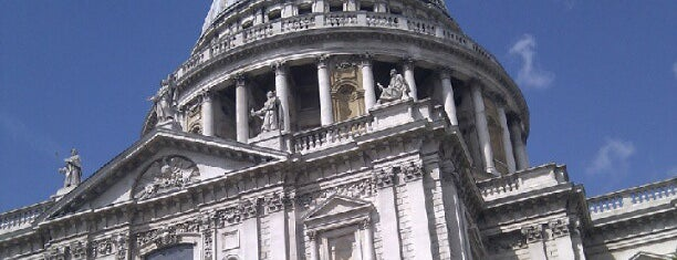 St Paul's Cathedral is one of My London.