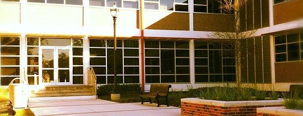 Beauregard Hall is one of Nicholls State University.