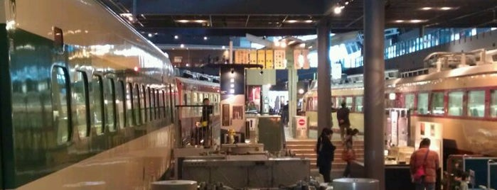 The Railway Museum is one of Japan must-dos!.