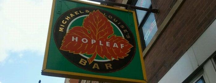 Hopleaf Bar is one of 5 great gastropubs.