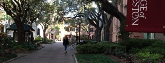 College of Charleston is one of College Love - Which will we visit Fall 2012.