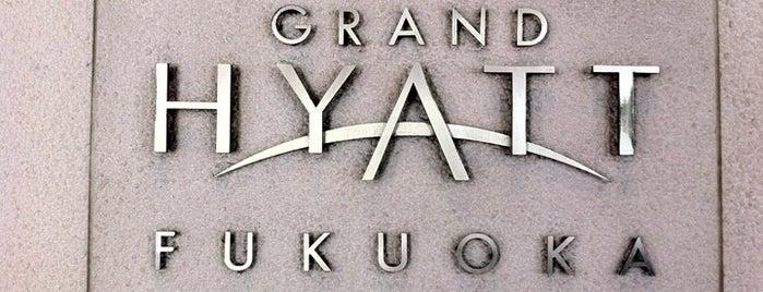 Grand Hyatt Fukuoka is one of HYATT Hotels and Resorts.